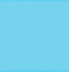 seamless wave tile blue vector image