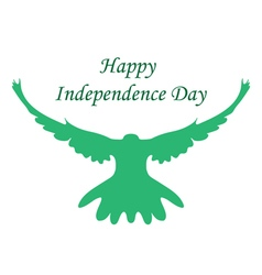 Happy India Independence Day Independence vector image
