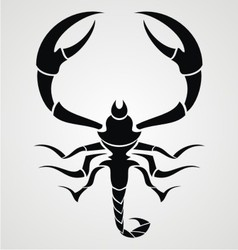 Black Scorpions vector image vector image
