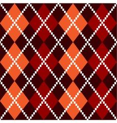 retro colorful colorful argile pattern vector image vector image