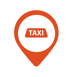 taxi cab logo design car hire badge app vector image vector image