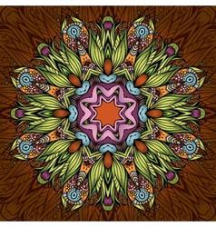 Circle ornamental background vector