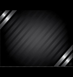 Classy silver background vector