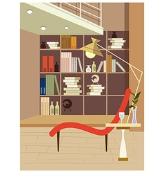 Luxury Home Interior vector image