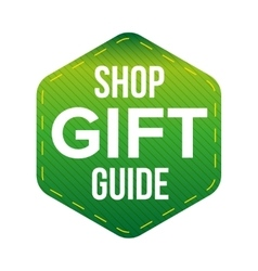 Shop Gift Guide vector