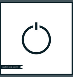 switch icon simple vector image