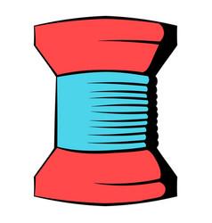 spool of thread icon icon cartoon vector image