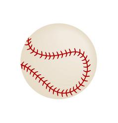 Baseball isometric 3d icon vector image