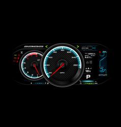 Car dash board eps 10 009 vector