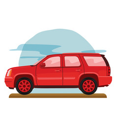off road family car vector image