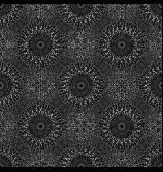 Oriental geometrical abstract mandala flower vector