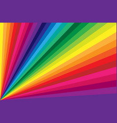rainbow colored background vector image