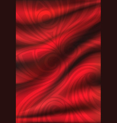 Red silk backgrounds drapery textile background vector