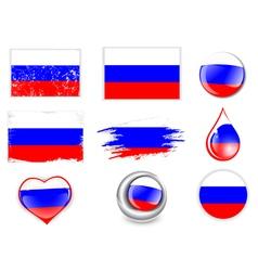 Russian Federation Flag vector