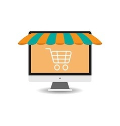 Shopping Online2 vector