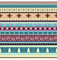 Christmas wallpaper vector image