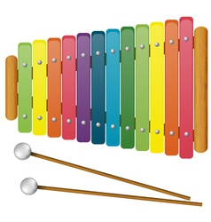 Childrens Musical Instruments - toy vector image vector image