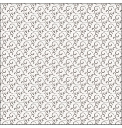Repeating abstract background with curl vector image vector image