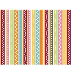 seamless pattern with fabric texture vector image