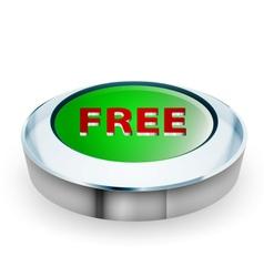 3D free button vector