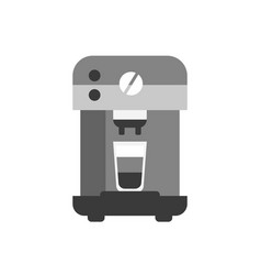 coffee machine icon flat style modern design vector image