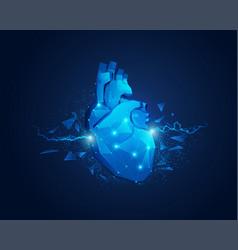 heartspark vector image