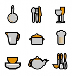 Kitchenware object vector