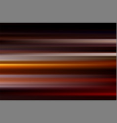 Red abstract speed motion blur of night lights in vector