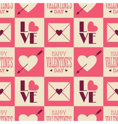 Seamless valentine pattern 2 vector