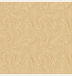 topographic map seamless pattern curved vector image