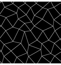 Mosaic geometric seamless pattern vector image vector image