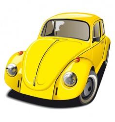 Volkswagen Beetle vector image vector image