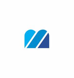 bm logo simple vector image