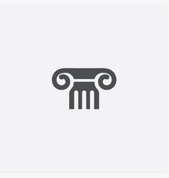 column icon vector image