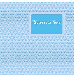 Elegance blue pattern vector