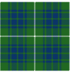 Green and blue tartan plaid seamless pattern vector