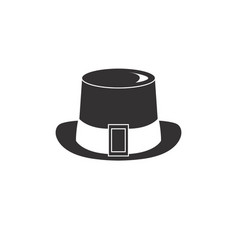 hat for gentelmen style vector image