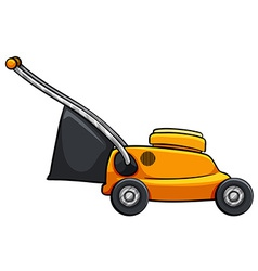 Lawnmower vector image