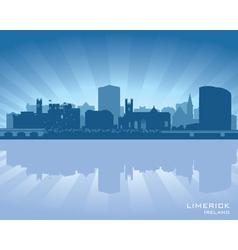 Limerick ireland skyline vector