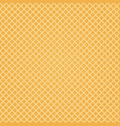 seamless wafer background appetizing repeat wafer vector image