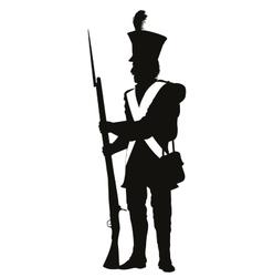 Vintage Soldier Warriors Theme vector image