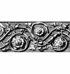 woodcut vector image vector image