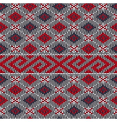 Knit texture vector image vector image