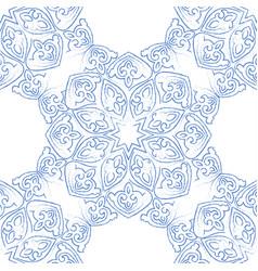 arabic seamless pattern ramadan kareem islamic vector image