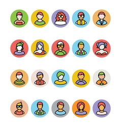 Avatar Icons 2 vector