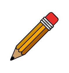 Colorful pencil icon stock vector