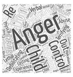 Control Your Anger Dont let it Control You Word vector