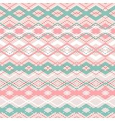 cross zigzag seamless pattern vector image