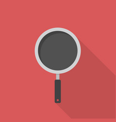 frying pan icon set of great flat icons with vector image