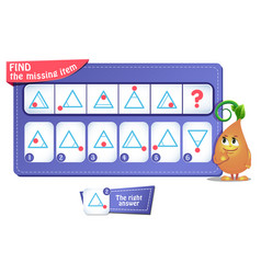 Game iq comes puzzle triangle vector